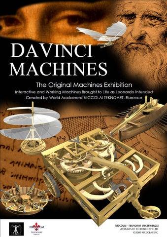 Da Vinci Machines Exhibition By Id Digital Agency Issuu