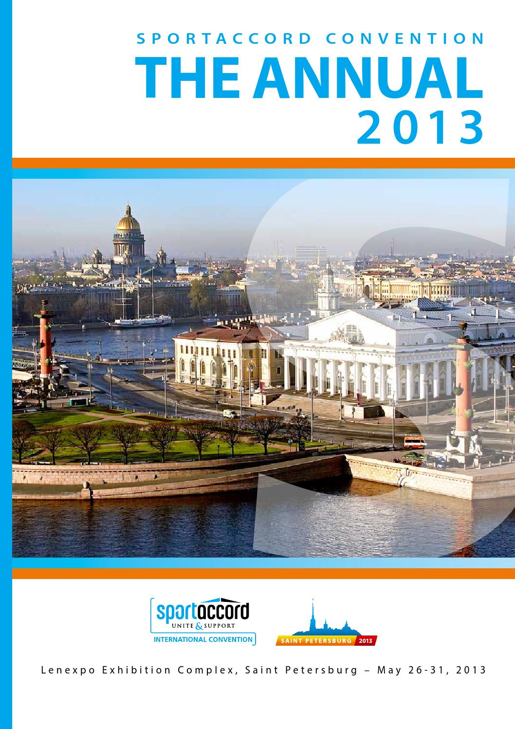 2013 Annual Sportaccord Convention By Sportaccord Convention Issuu