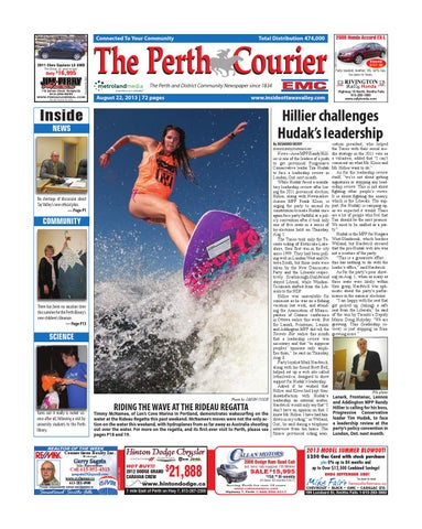 Perth082213 by Metroland East - The Perth Courier - issuu b7a47e3af5752