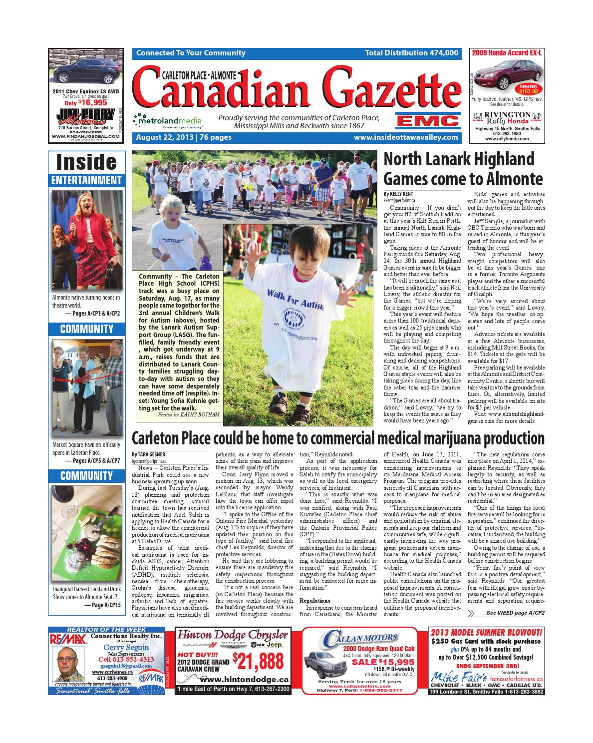 21fd8c76e7f Almontecarletonplace082213 by Metroland East - Almonte Carleton Place  Canadian Gazette - issuu