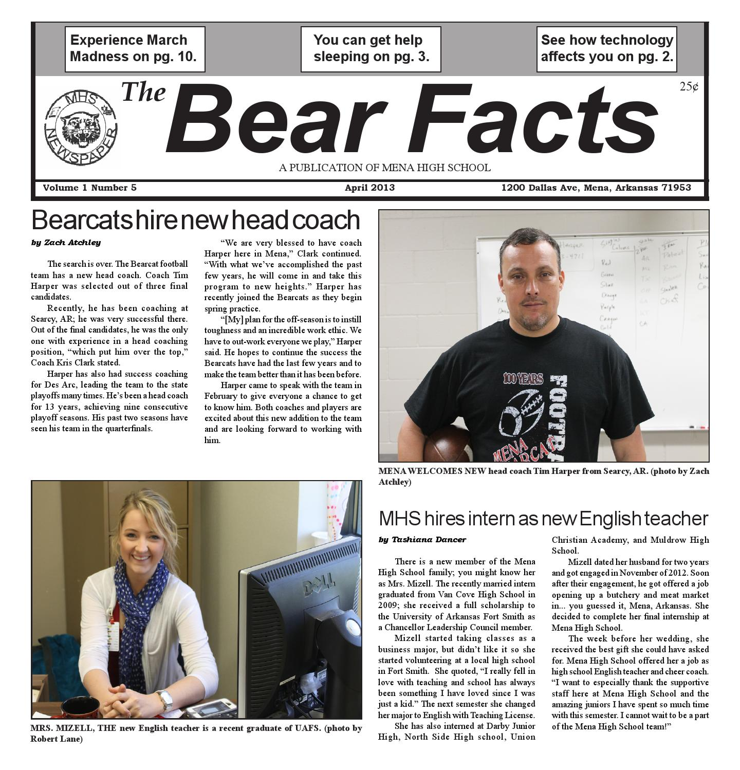 April13 by MHS Bear Facts - issuu