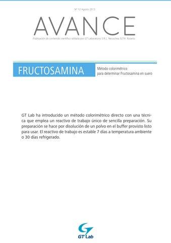 diabetes fructosamina