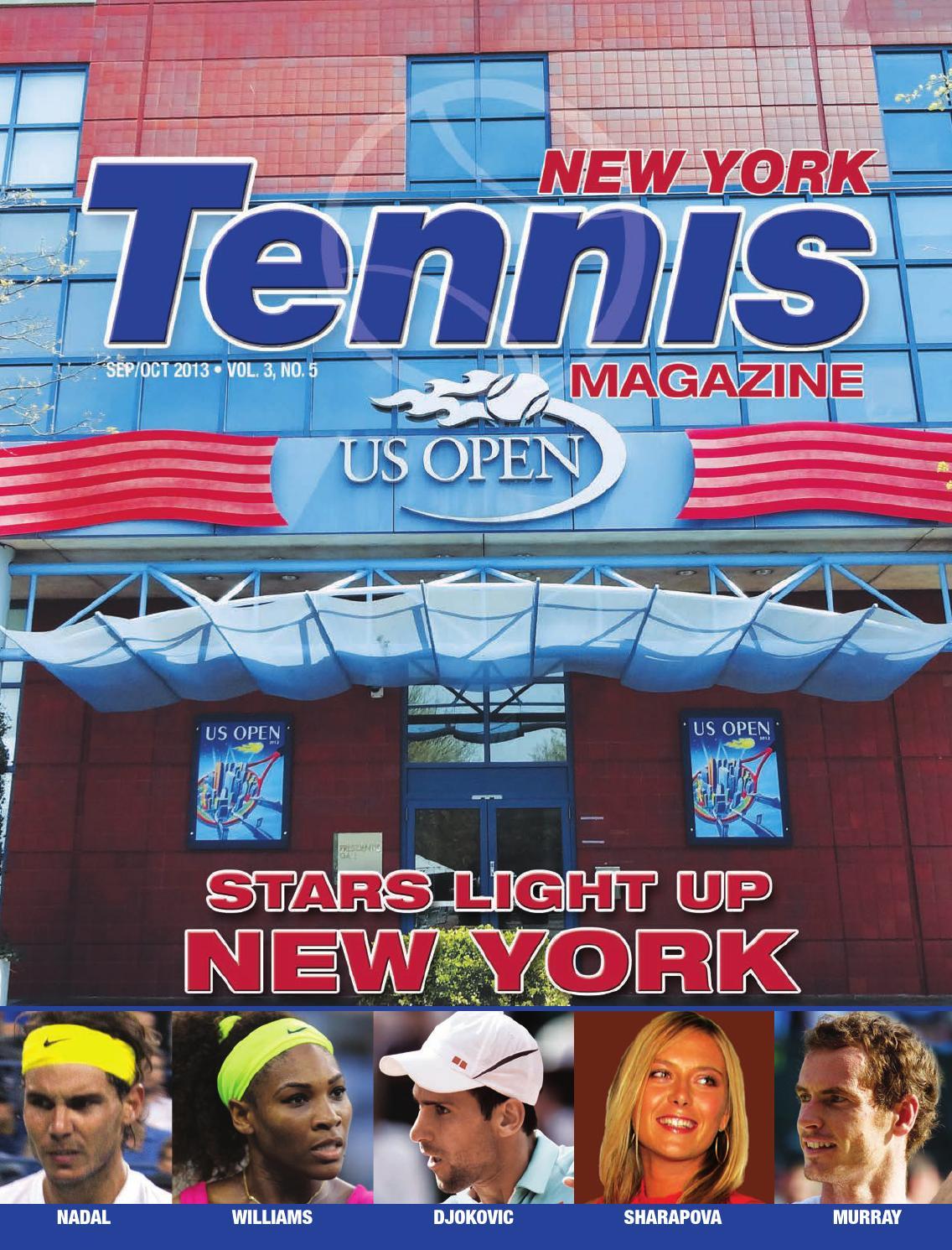 New York Tennis Magazine September/October 2013 by United Sports
