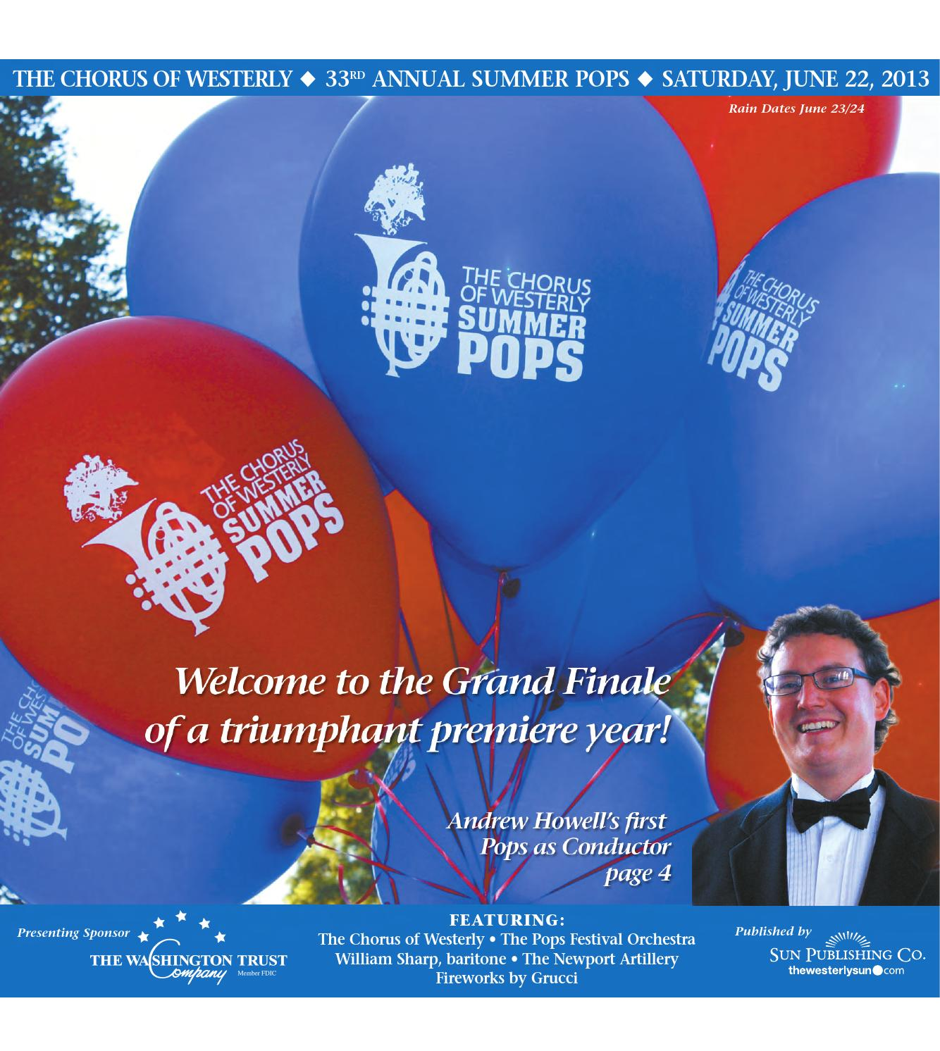 2013 Summer Pops By The Westerly Sun