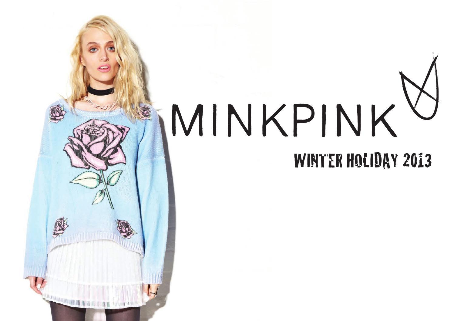 052b02397fa Minkpink Winter Holiday 2013 Lookbook by Zappos.com - issuu