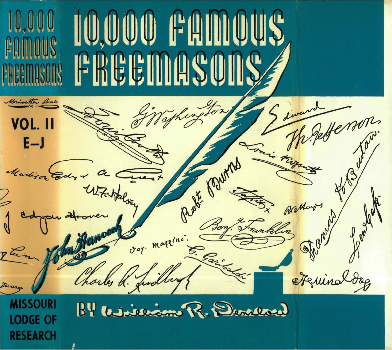 10000 Famous Freemasons