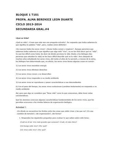Activ b1 by alma leon - issuu