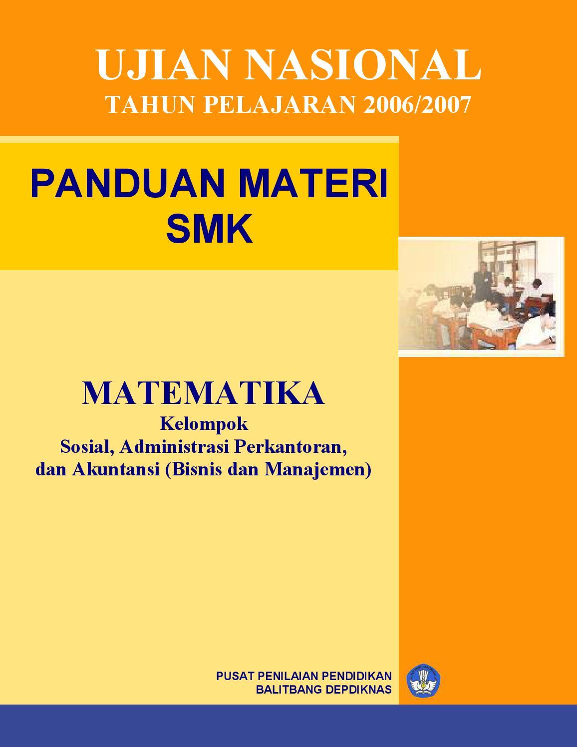 Matematika Bisnis Manajemen By Muhayanatul Juhria Issuu