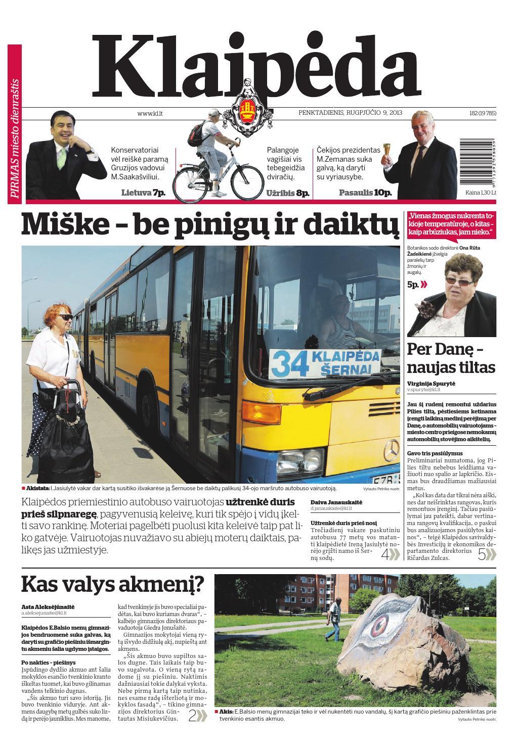 Afrika Nema Karta Reke.2013 08 09 Klaipeda Internetas By Diena Media News Issuu