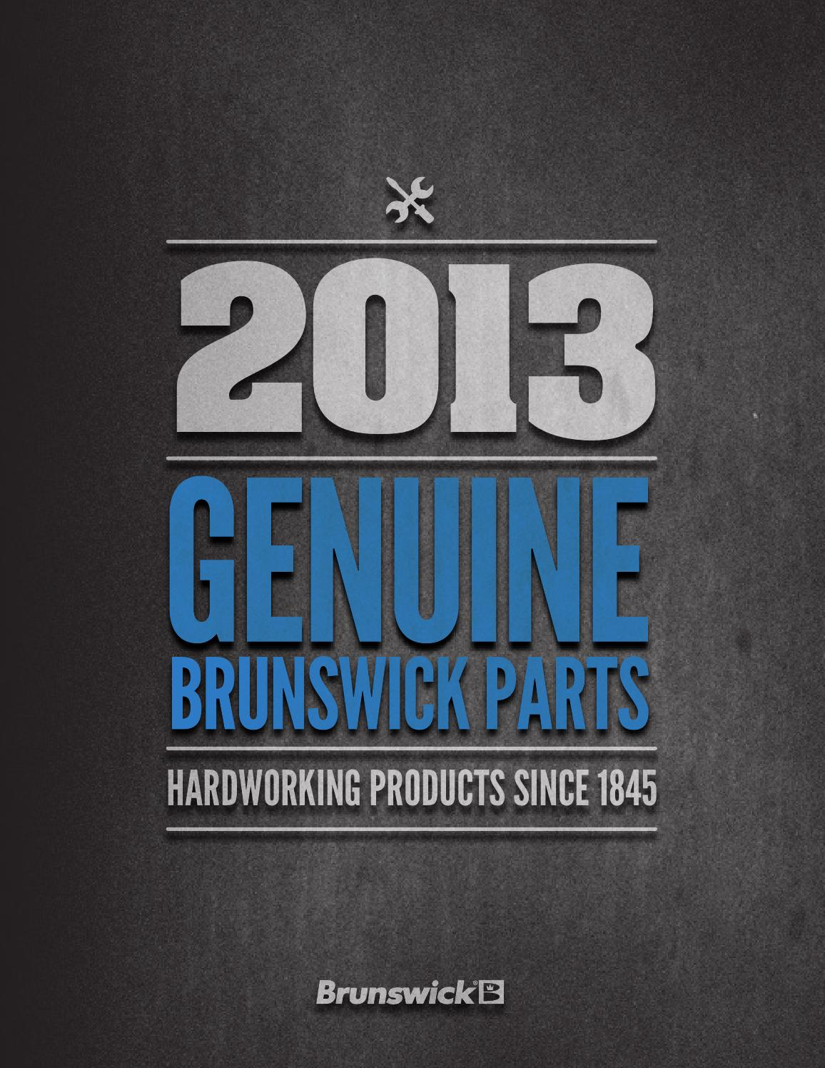 Gs F 0 60 >> Genuine Brunswick Parts Catalog 2013 by Valcke Group - Issuu