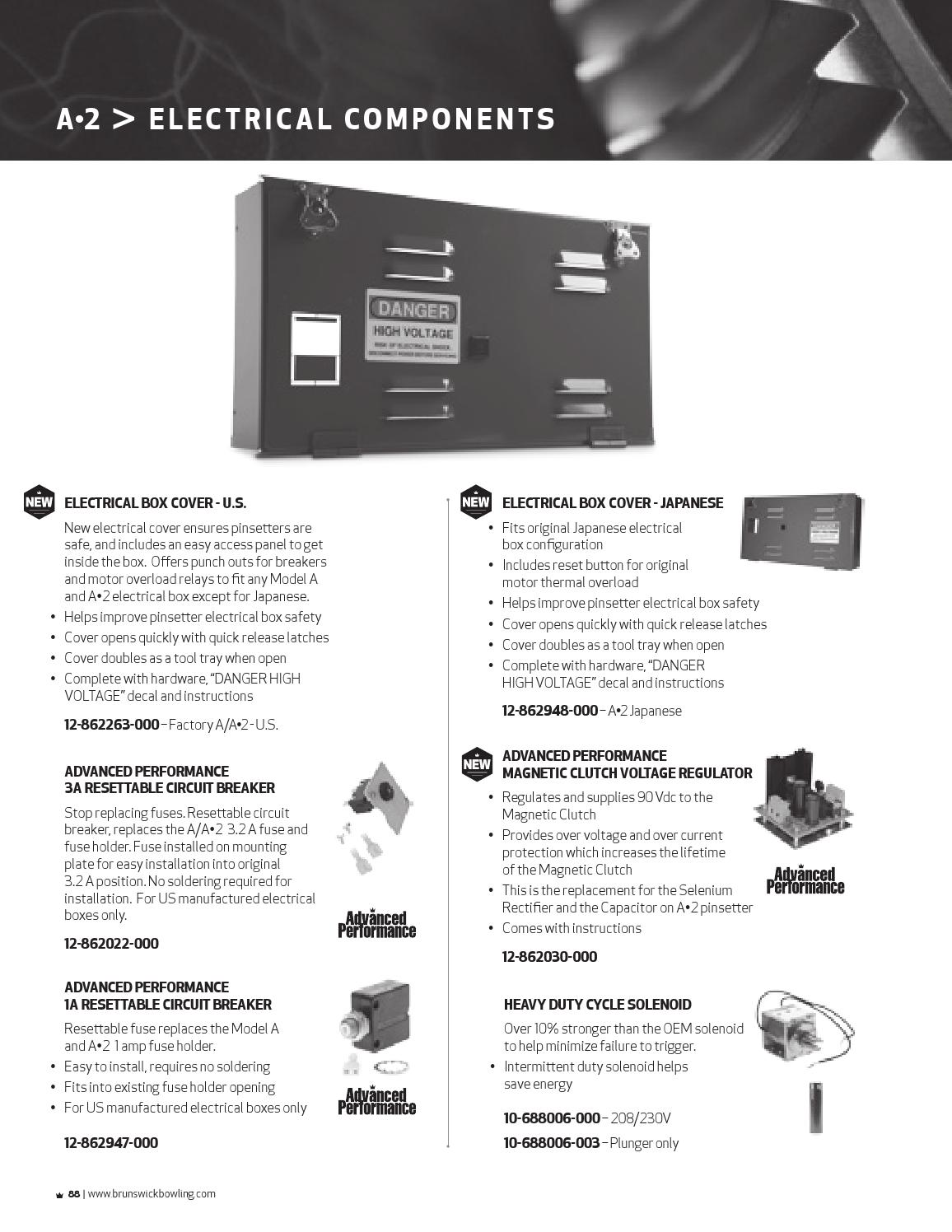 genuine brunswick parts catalog 2013 by valcke group issuuCatalog Electrical Fuses Holders Circuit Breakers Resettable #18