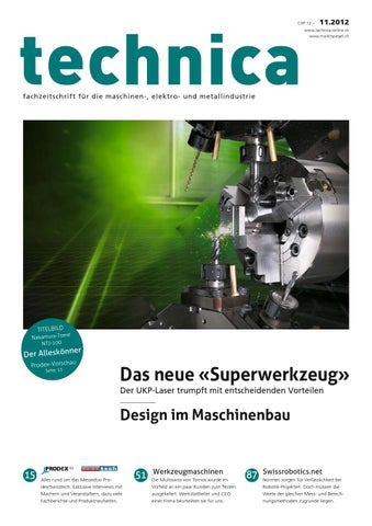 technica 11/2012 by AZ Fachverlage AG - issuu