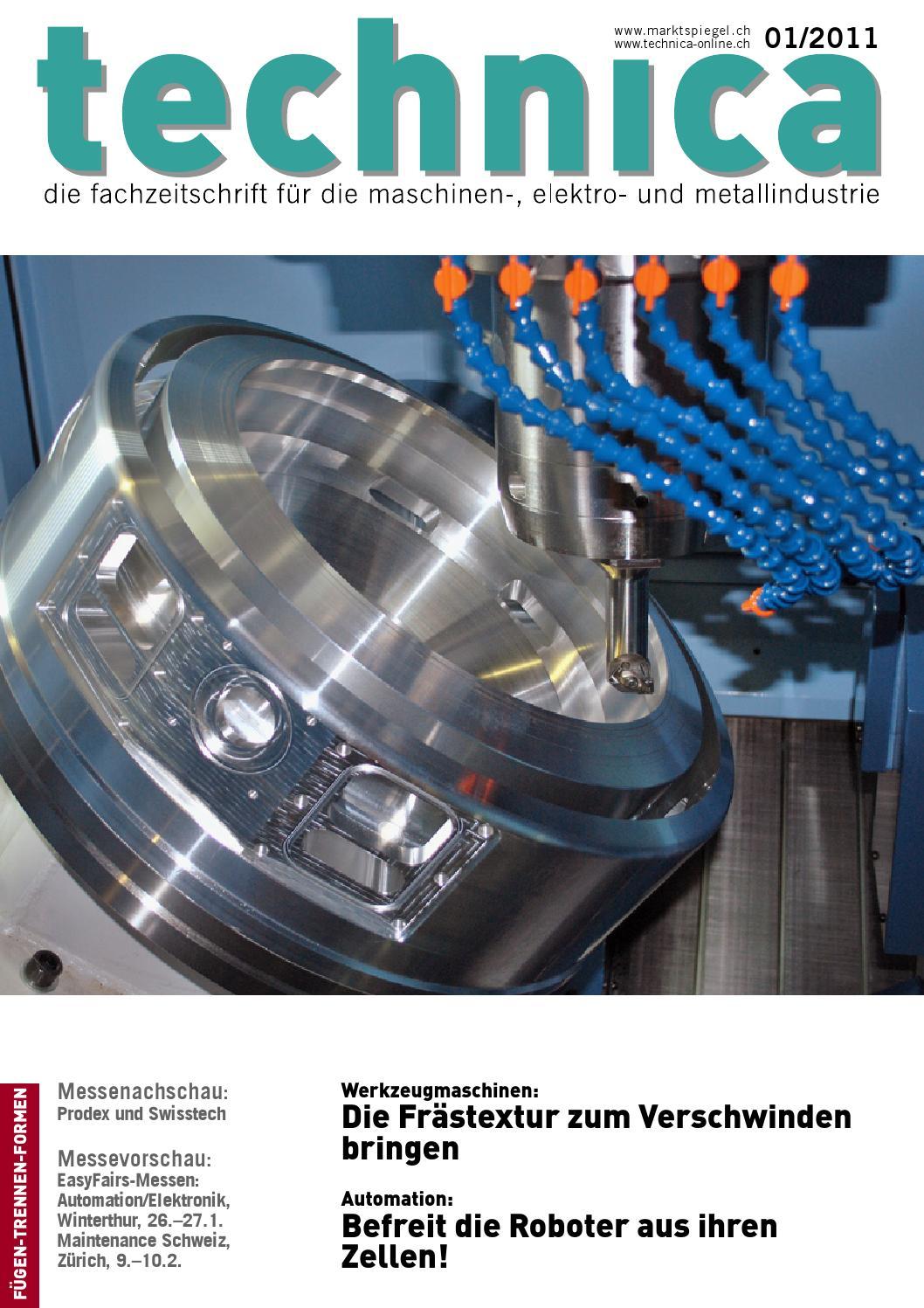 technica 01/2011 by AZ Fachverlage AG - issuu