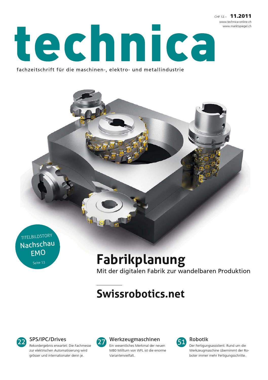 technica 11/2011 by AZ Fachverlage AG - issuu