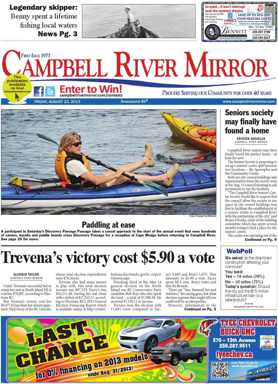 campbell river mirror august 23 2013 by black press issuu