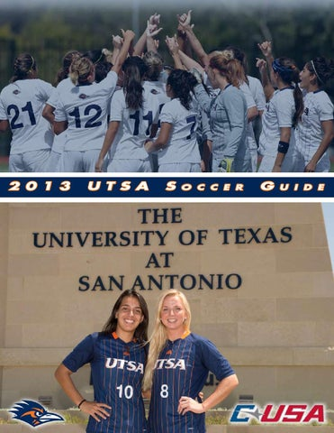 2013 utsa soccer media guide by utsa athletics communications issuu page 1 fandeluxe Image collections