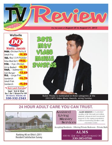 TV Review 8-25-2013 by East Liverpool Review - issuu 605cde06f