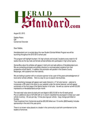Herald Standard Scholar Athlete by HSAds - issuu