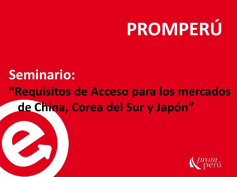 Requisitos De Acceso Para Los Mercados De China Corea Del Sur Y  # Certificado Fitosanitario Muebles