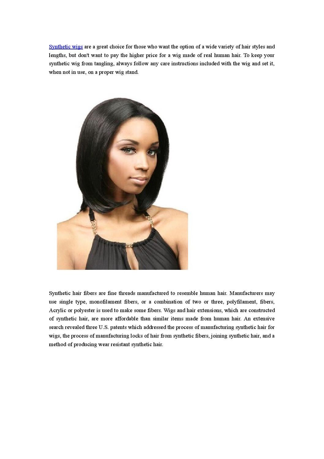 Synthetic Wigs By Sherry280 Issuu