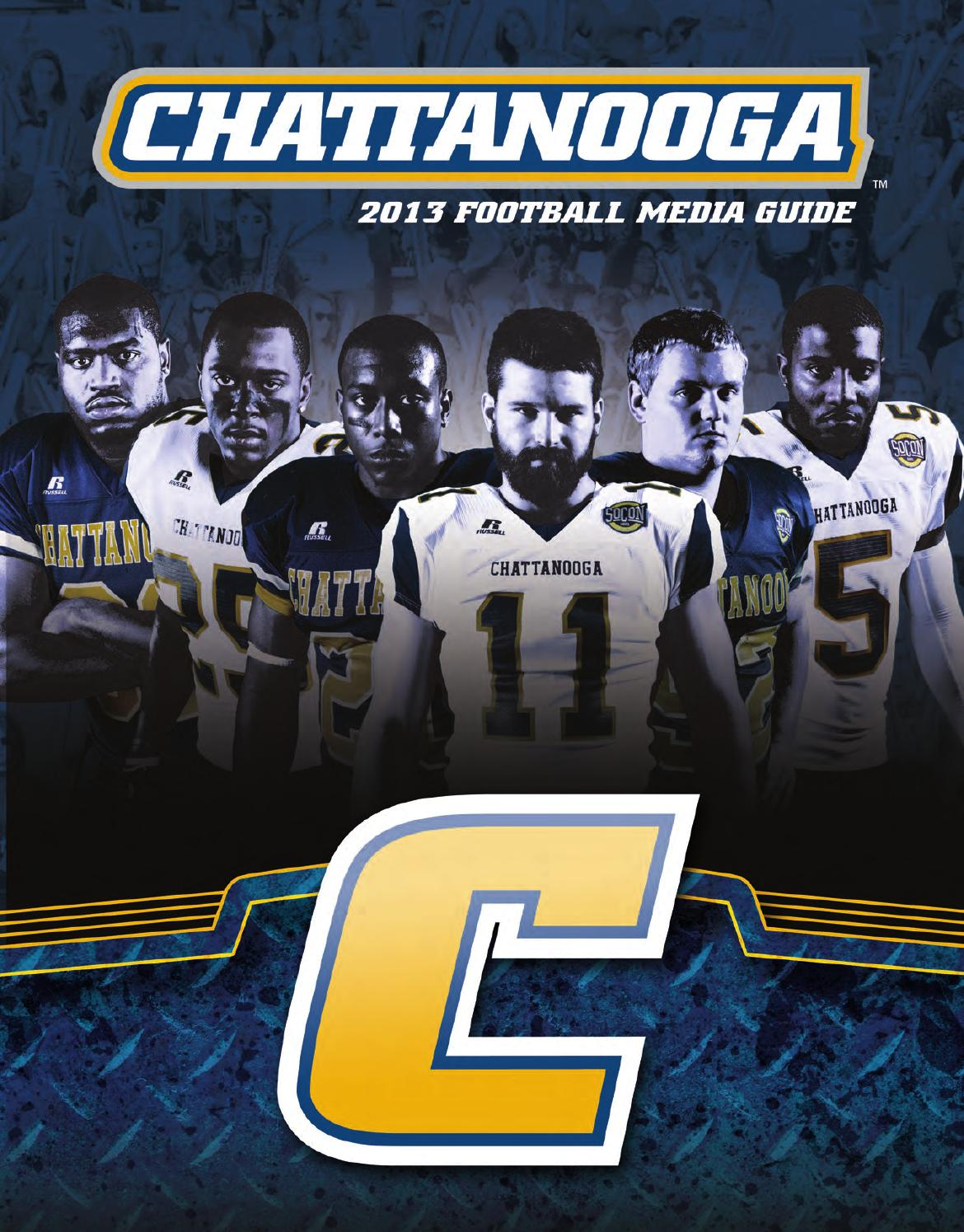 2013 Chattanooga Football Media Guide by Chattanooga ...