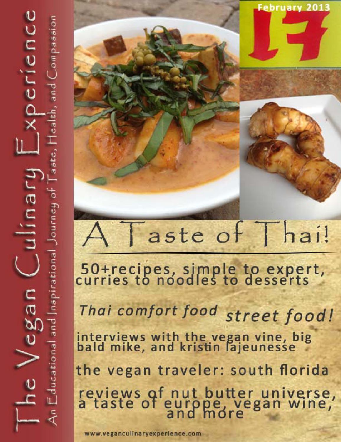 Vegan culinary experience thai edition by vegan future issuu forumfinder Gallery
