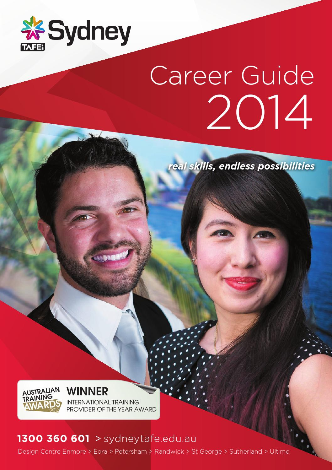 Sydney TAFE Career Guide 2014 By NSW Institute