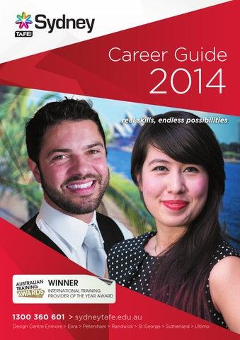 Sydney TAFE Career Guide 2014 by TAFE NSW Sydney Institute issuu