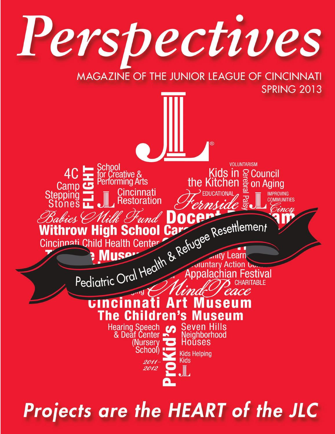 JLC Perspectives - Spring 2013 Issue by Junior League of Cincinnati ...