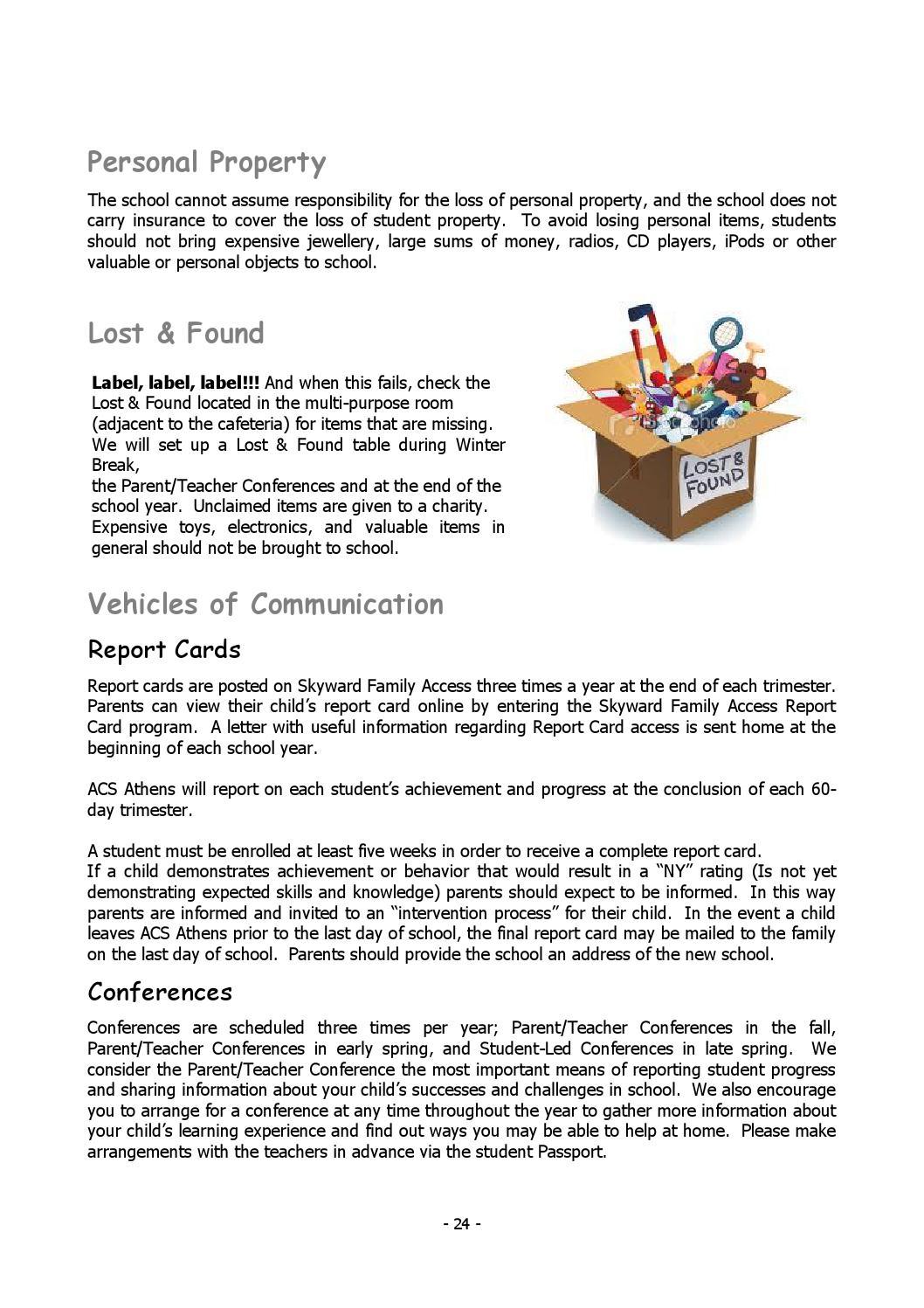 Early Childhood Handbook 2013 - 2014 by ACS Athens - issuu