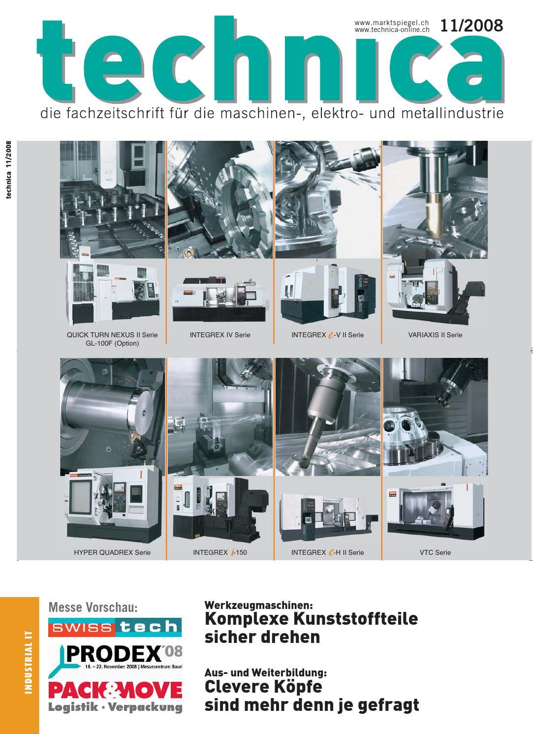technica 11/2008 by AZ Fachverlage AG - issuu
