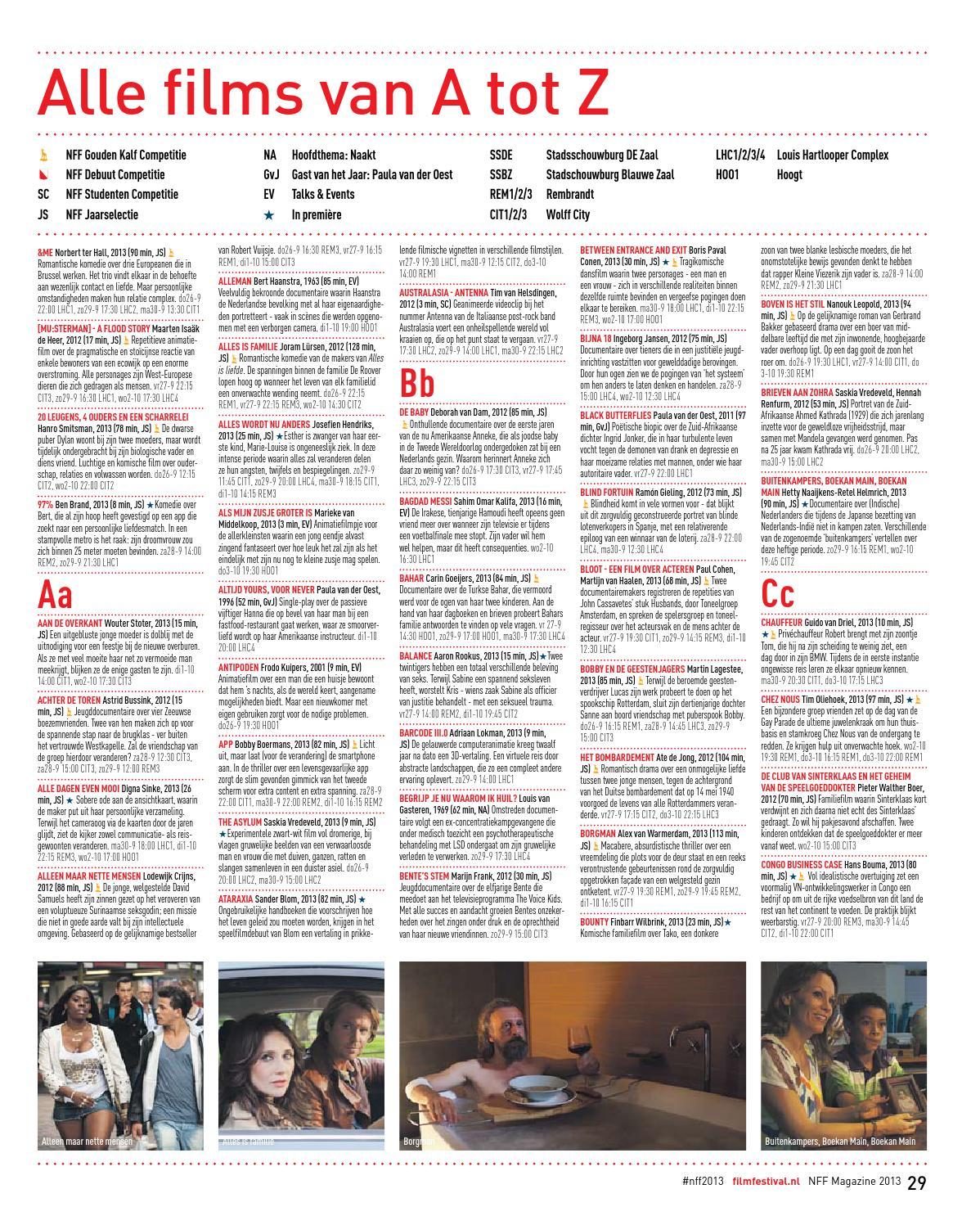 Alleen Maar Nette Mensen Seksscene nff magazine 2013nederlands film festival - issuu