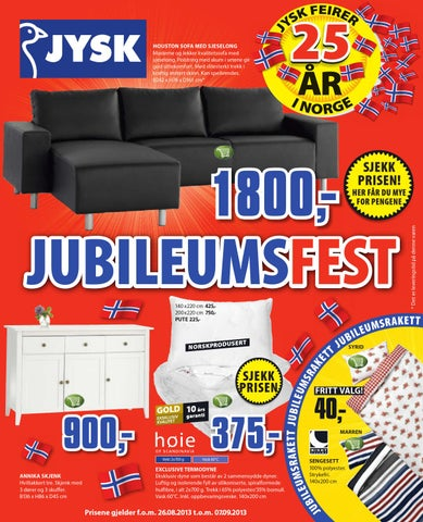 Fra mega Jysk tom 7september by Postkassereklame.no - issuu CV-45