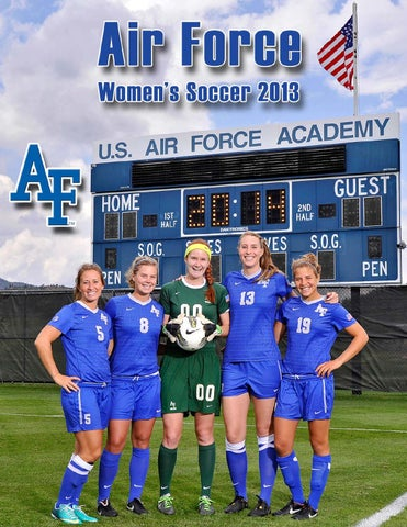 799fb64c7 2013 Air Force Womenâ  x20AC   x2122 s Soccer (Top Row) Left to Right   Assistant Coach Robin Grossman