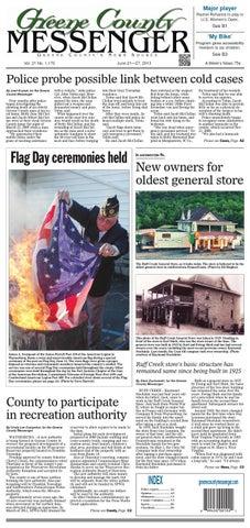 Greene County Messenger 6-21-13 by HSAds - issuu