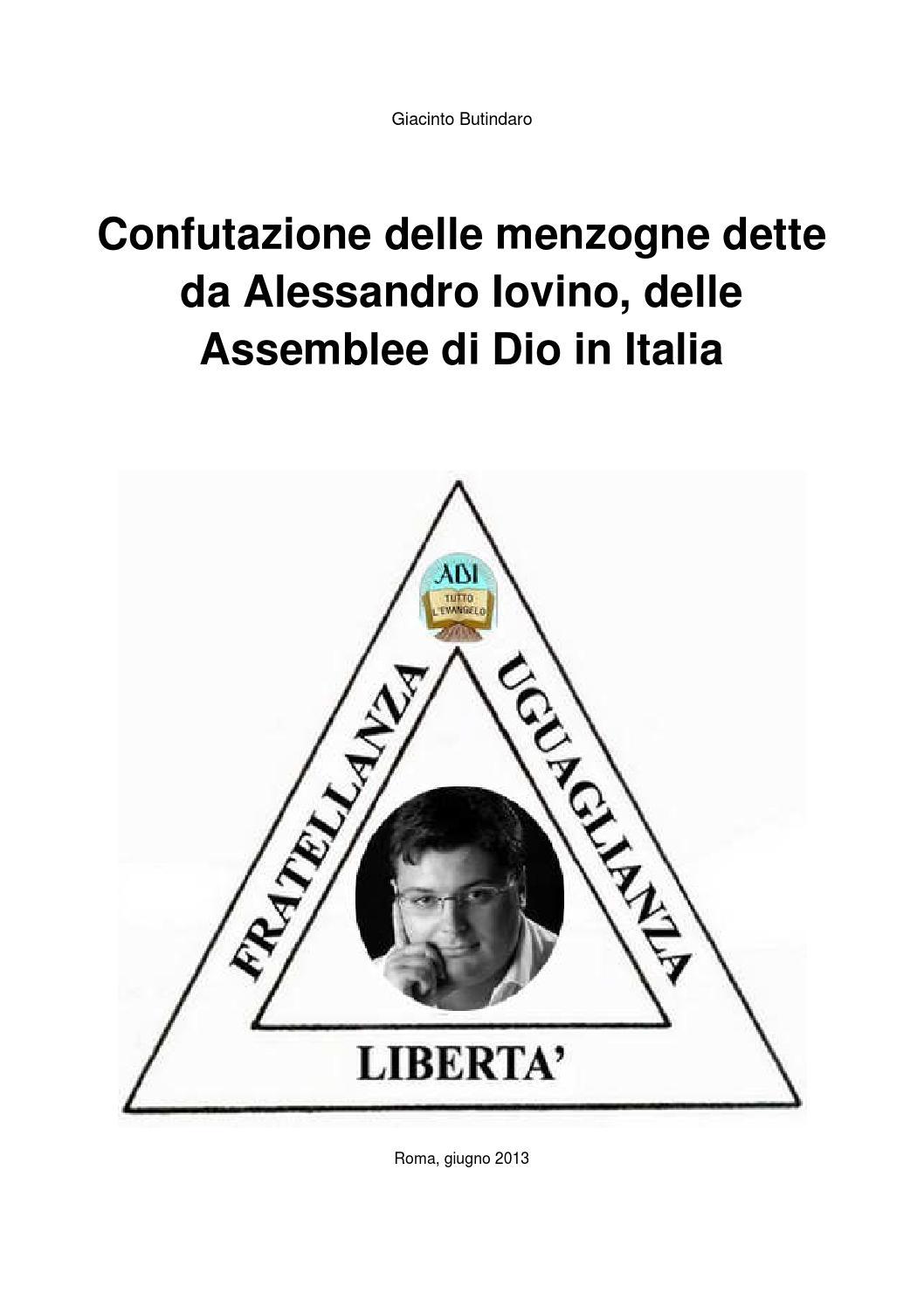 c7a1b56fe2f2f Confutazione delle menzogne dette da Alessandro Iovino