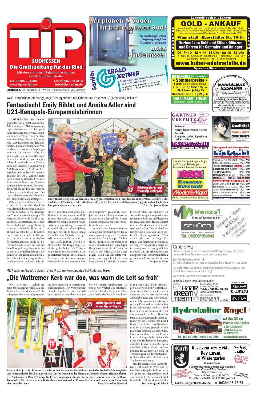 Tip-Südhessen - Die Gratiszeitung im Ried 35mi13 by Tip-Verlag - issuu