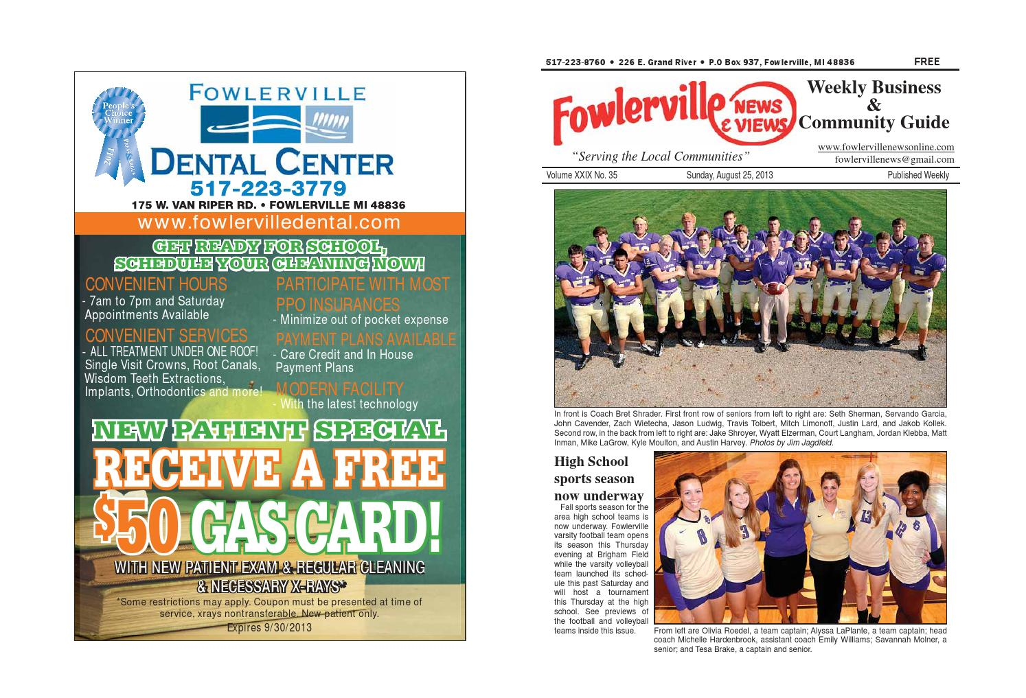 Fowlerville news and views by steve horton issuu fandeluxe Gallery