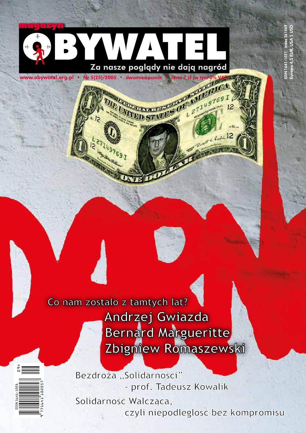 Magazyn Obywatel Nr 5252005 By Magazyn Obywatel Issuu