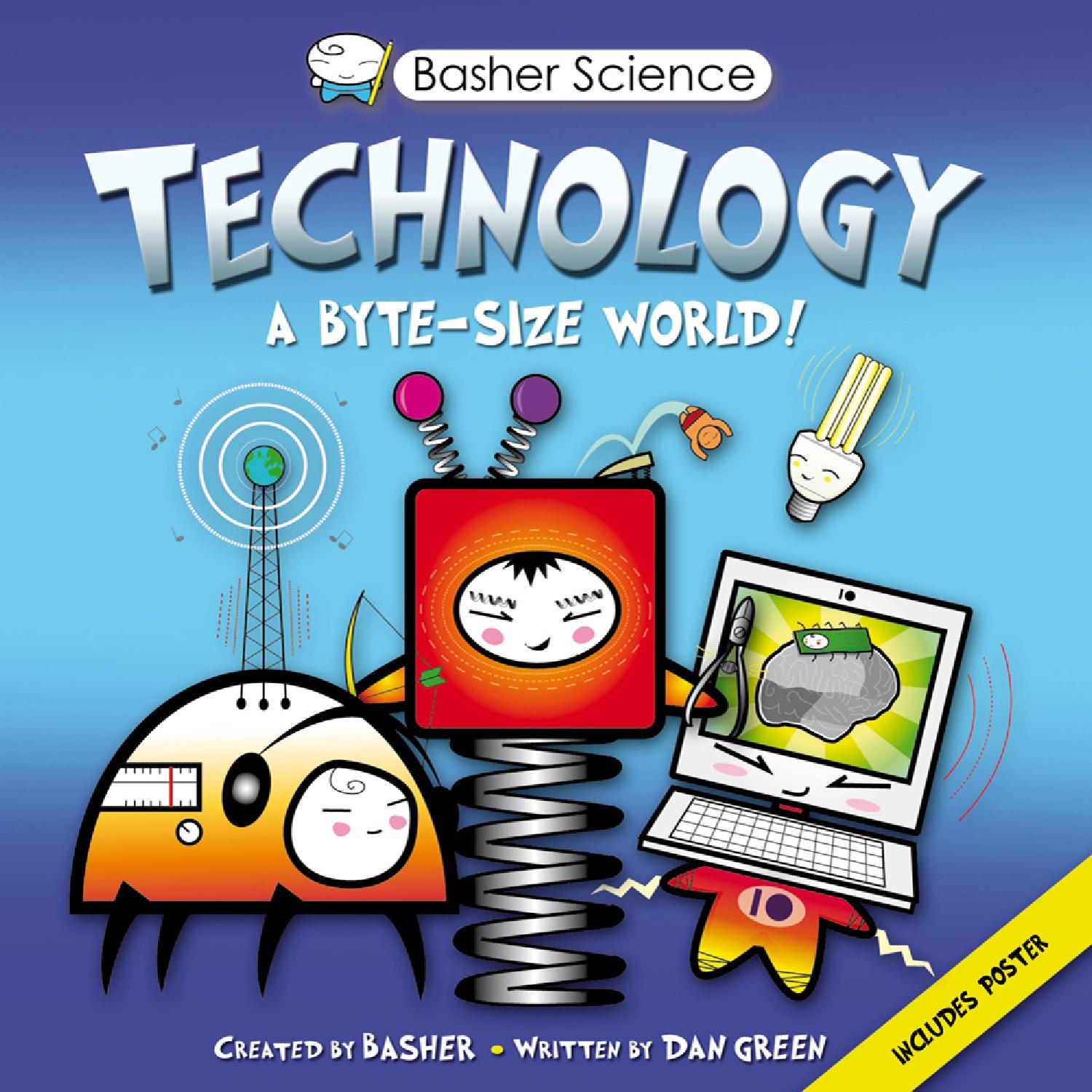 Science Technology: Basher Science: Technology Sampler By Kingfisher