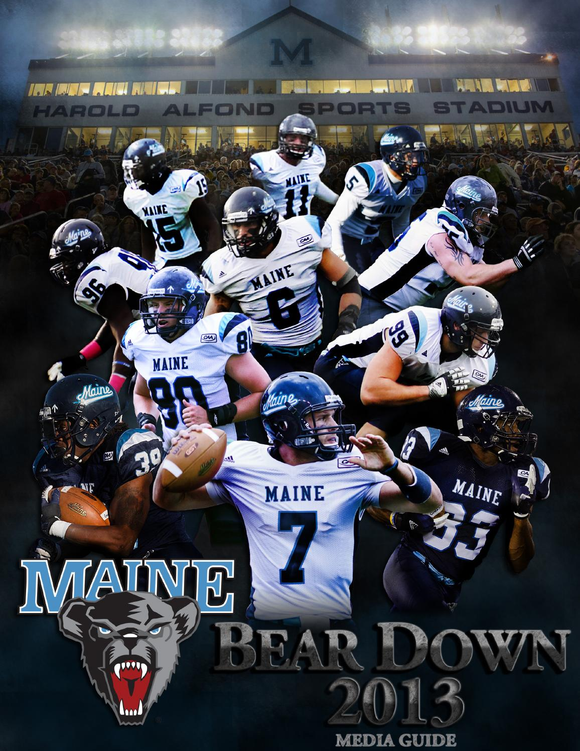 2013 Maine Football Media Guide by University of Maine ...