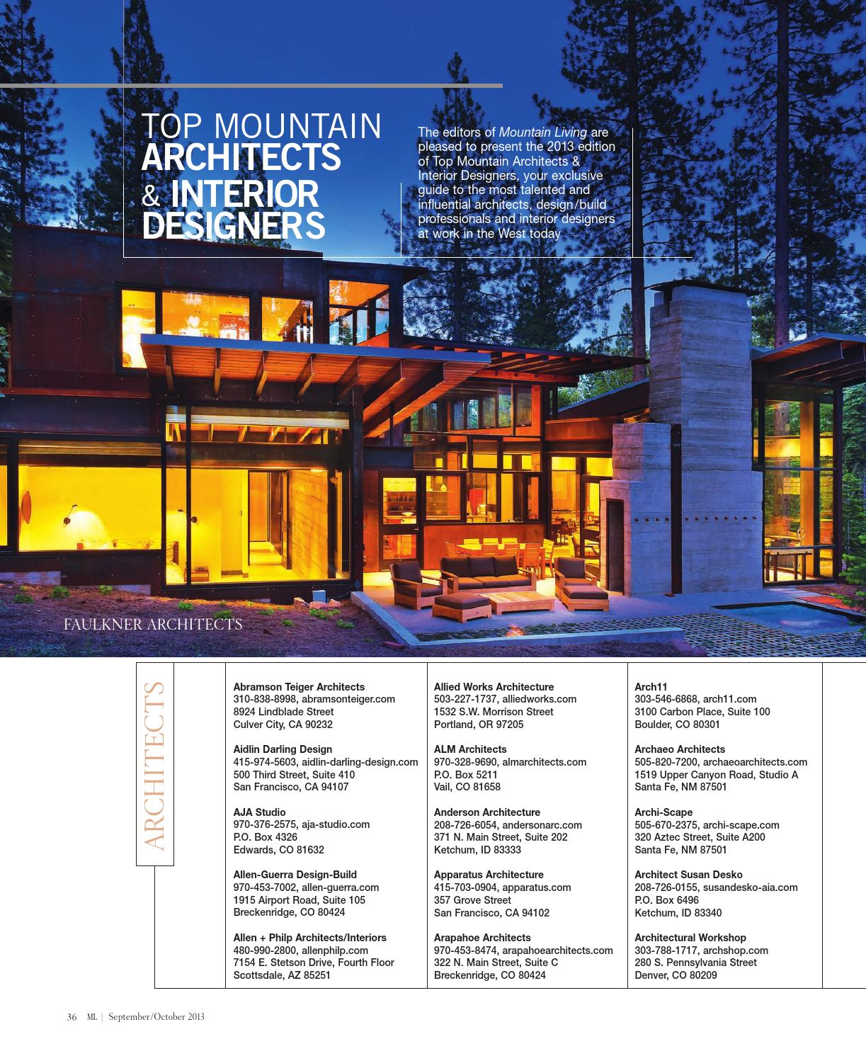 Mountain Living September October 2013 By Network Communications Inc Issuu