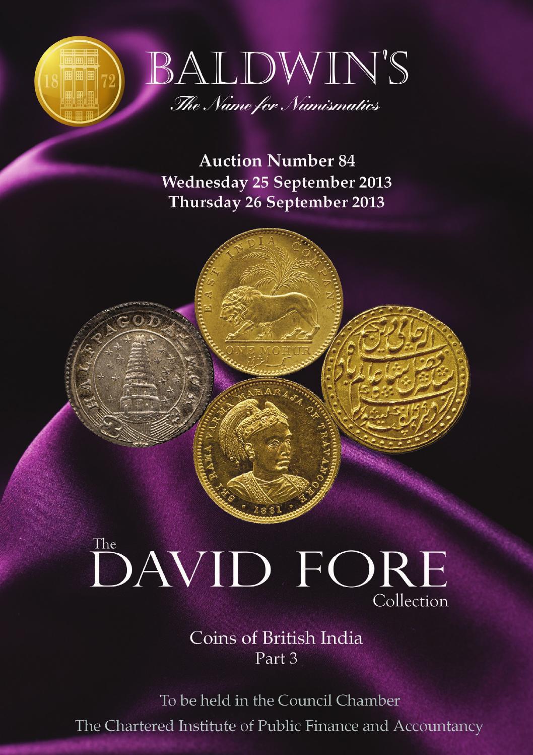 1818 george VI king emperor east india company uk one anna rare big palm coin