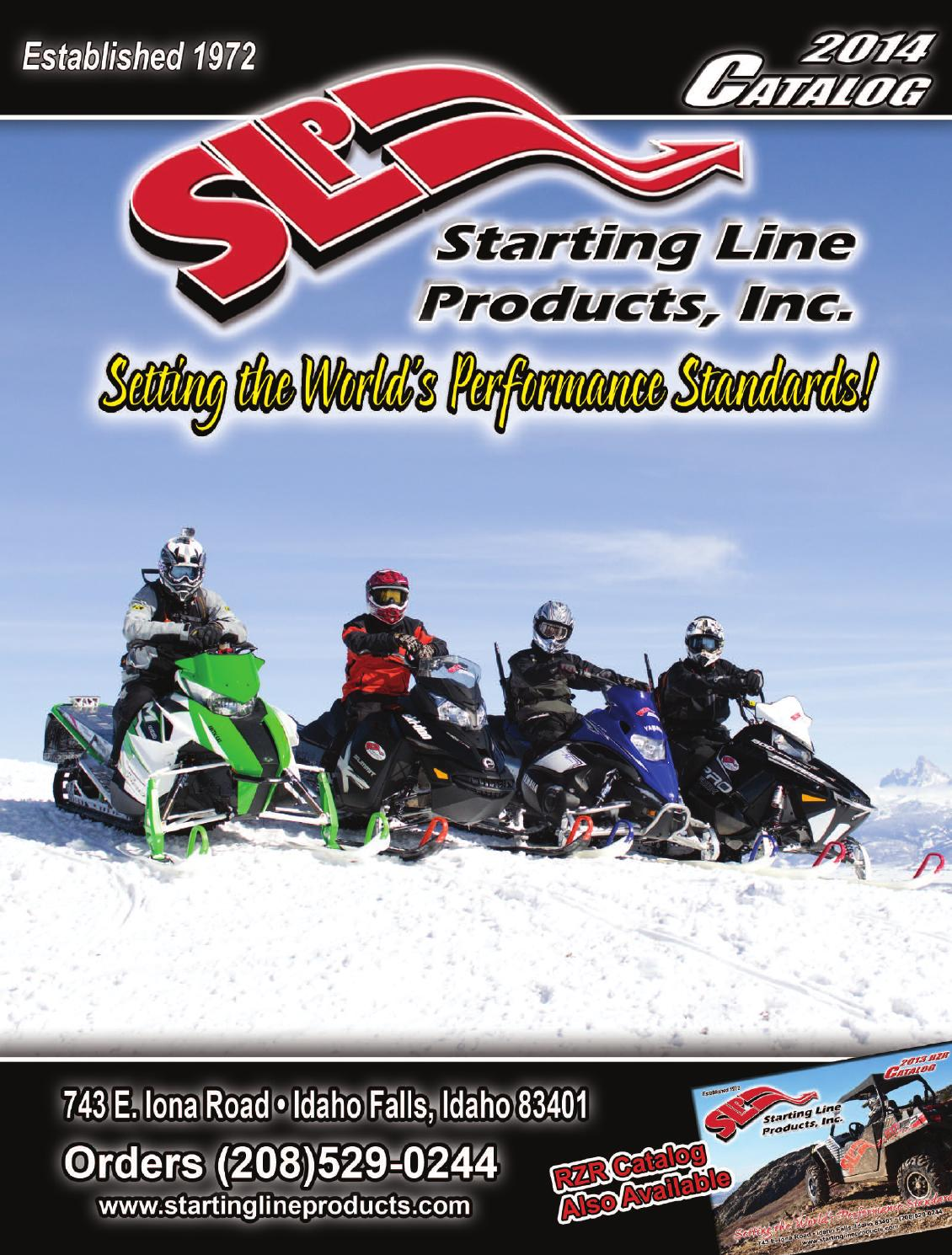 2014 Slp Snow Catalog By Starting Line Products Issuu Honda Cbr600rr Series Slip On Exhaust M 2 Carbon Fiber Canister Hitam
