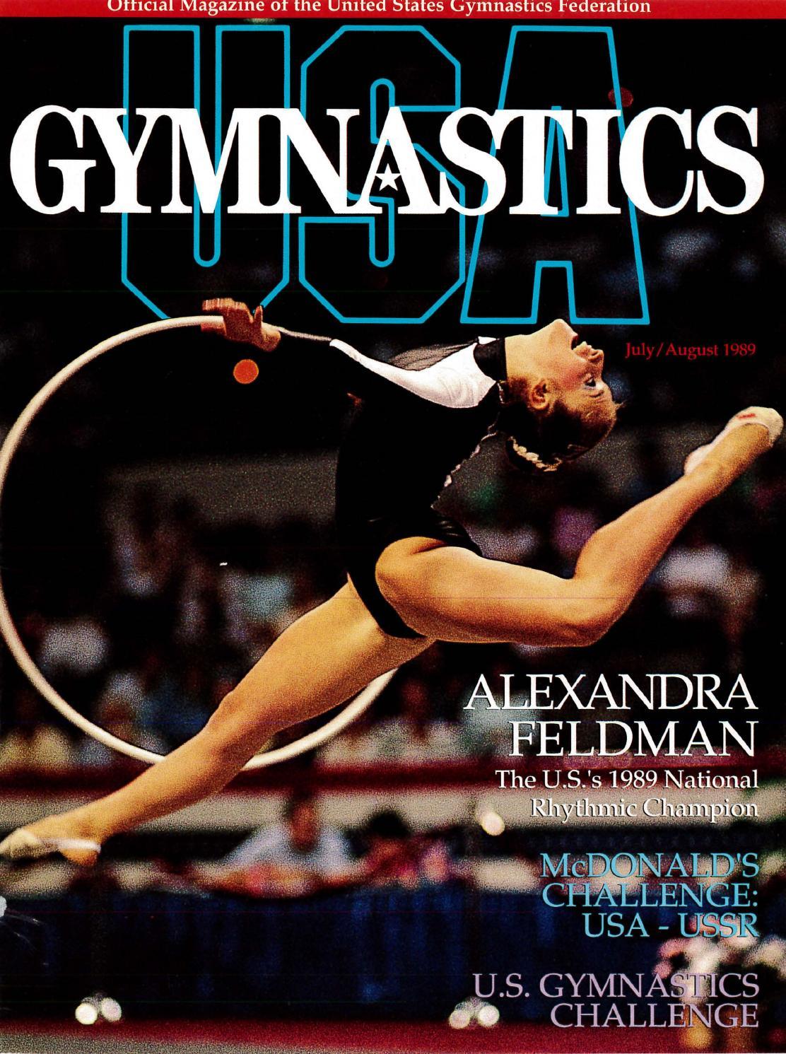 USA Gymnastics July August 1989 By USA Gymnastics Issuu