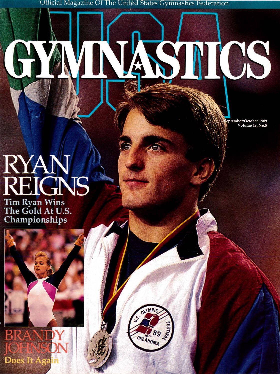 USA Gymnastics September October 1989 By USA Gymnastics Issuu
