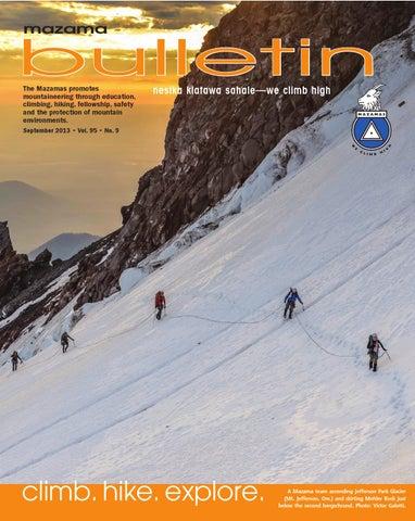 45eed03259 Mazama September Bulletin by Mazamas - issuu