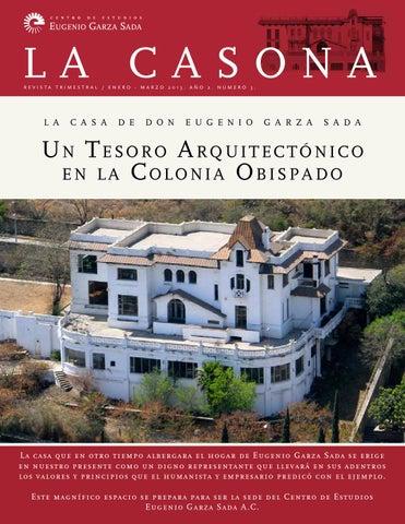 La casona no 3 by centro eugenio garza sada issuu - La casona del jardin ...