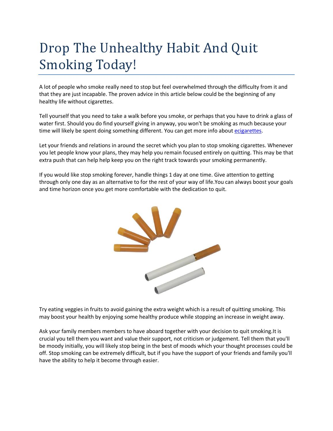 Just how to Quit Smoking Without Difficulty