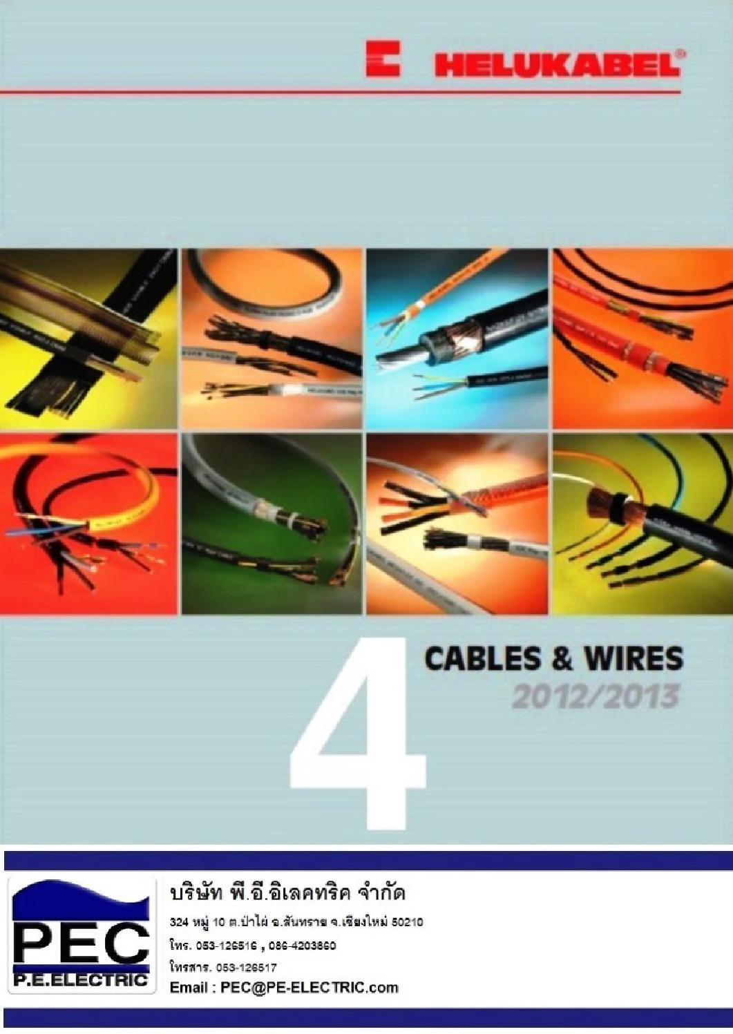4 catalogue cables and wires en by PEC - issuu
